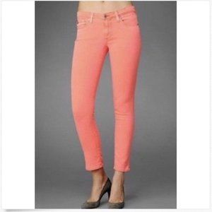 AG hot pink skinny ankle jeans 28R - Anthro